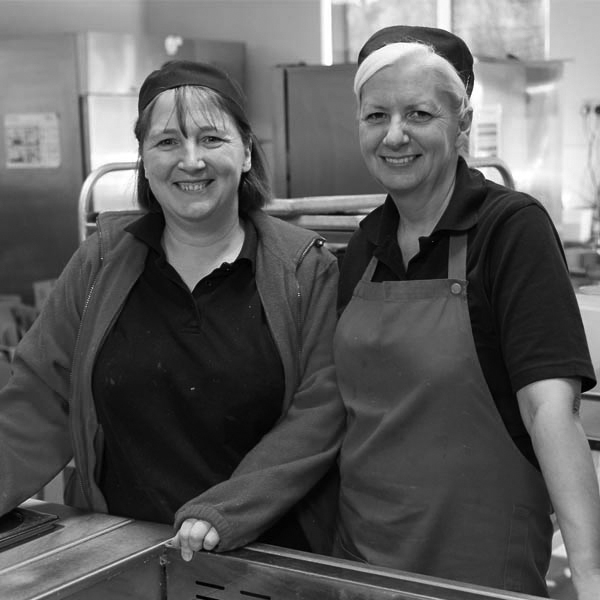 Louise More & Susan McCrossan - Catering Staff