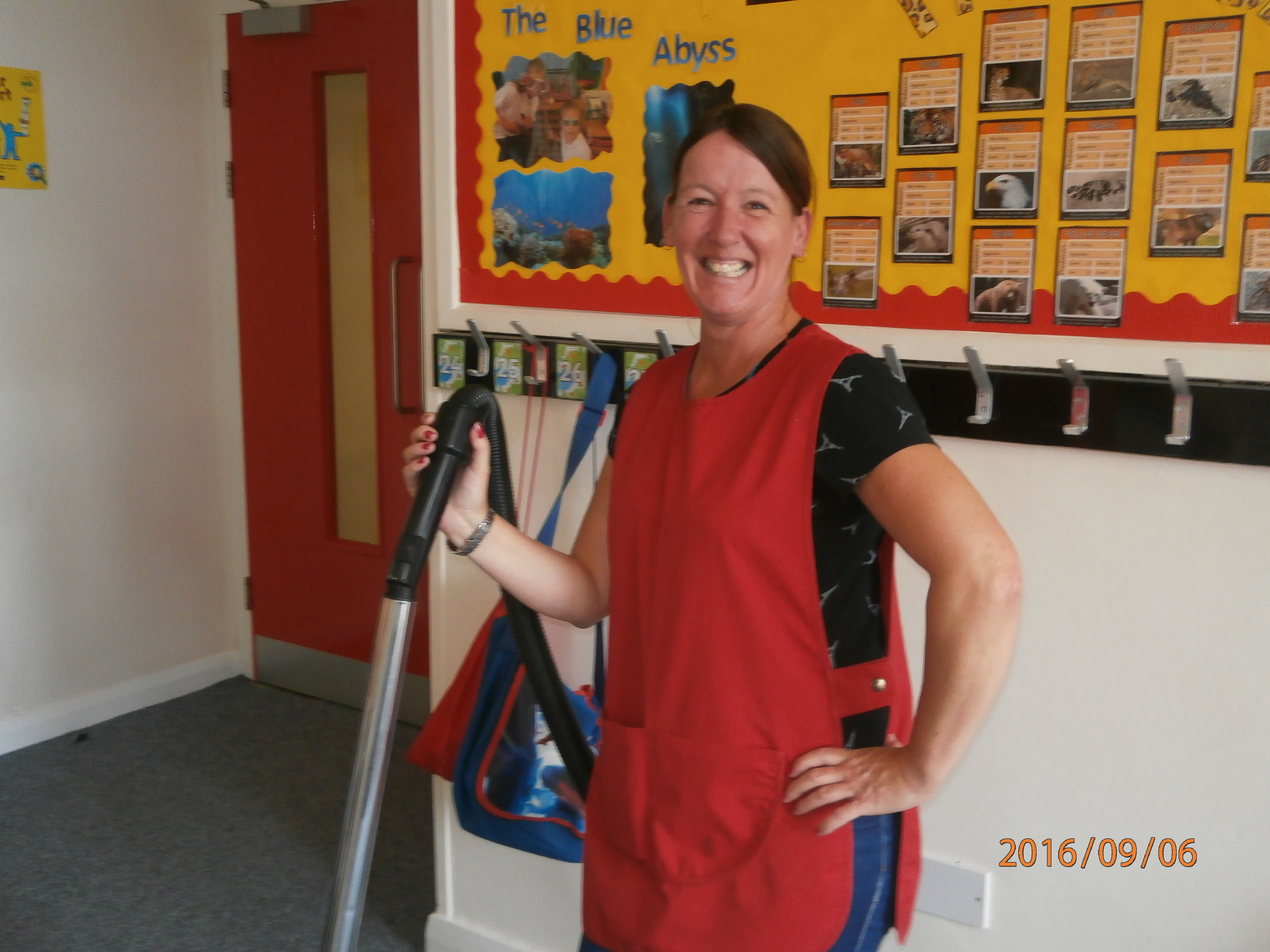 Mrs Cooper - Cleaning Operative