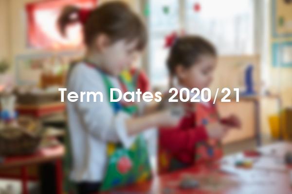 Term Dates 2021 / 22