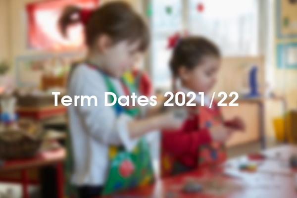 Term Dates 2022 / 23