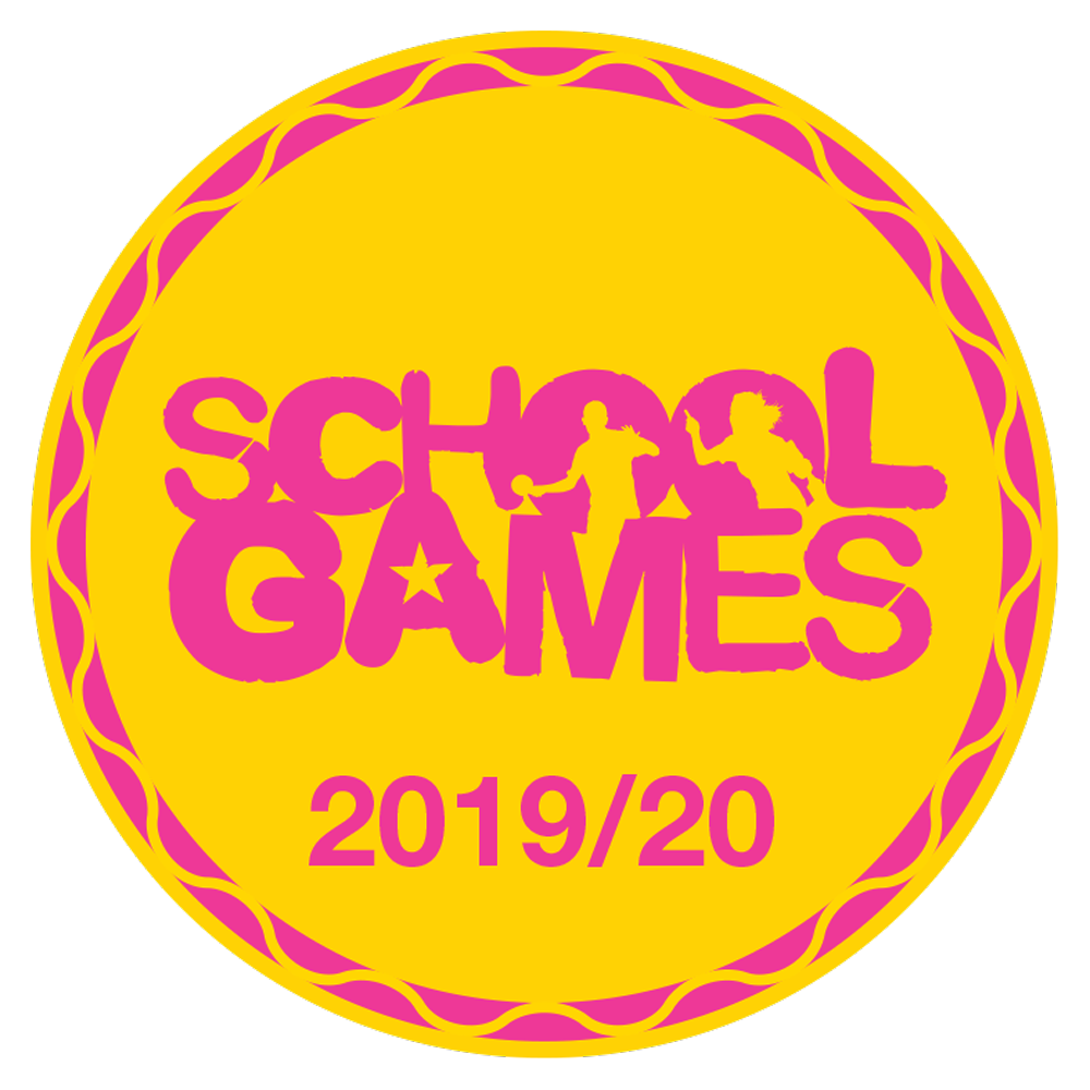 School Games Mark certificate 2019-20
